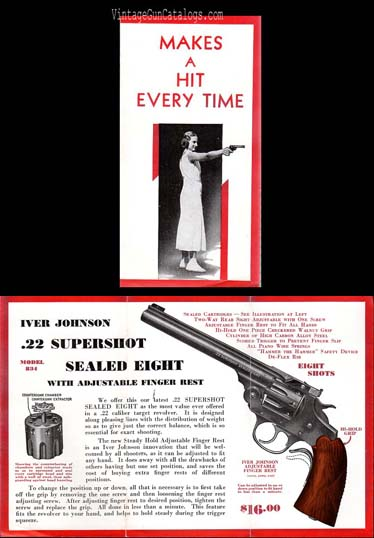 1932 Iver Johnson .22 Supershot Sealed Eight Advertisement