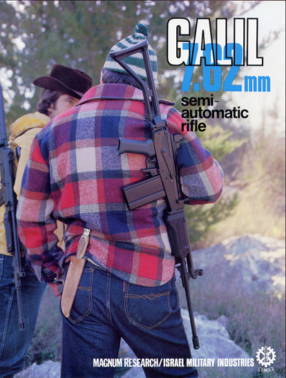 1980's Galil 7.62 Semi-Automatic Rifle Catalog
