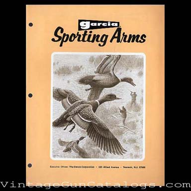 1974 Garcia Sporting Arms Catalog