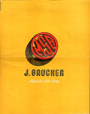 1950-60's J. Gaucher Catalog