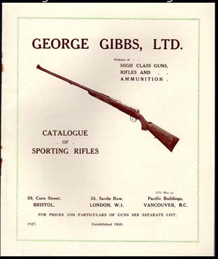 1927 George Gibbs Catalogue