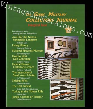 1999 The Gibbs Military Collectors Journal No.1