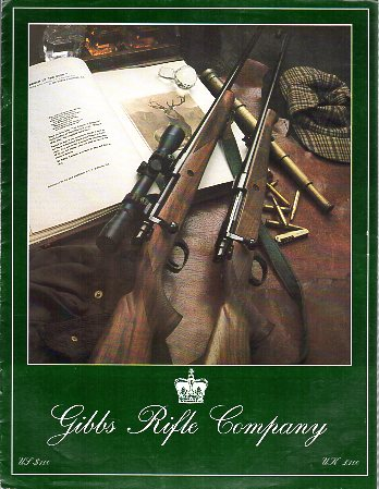 1992 Gibbs Rifle Company Catalog