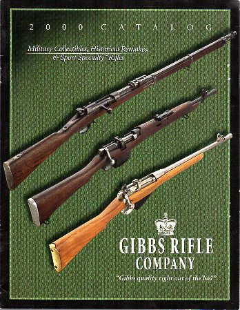 2000 Gibbs Rifle Company Catalog