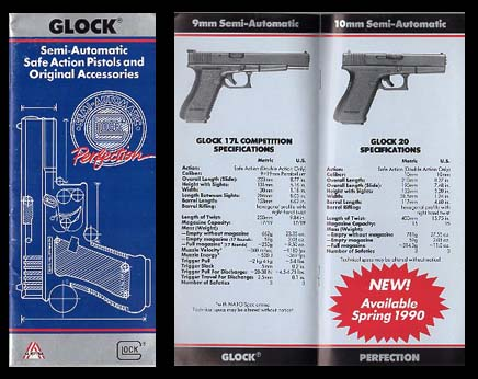 1990 Glock Catalog/Early