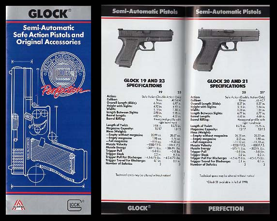 1990 Glock Catalog/Late