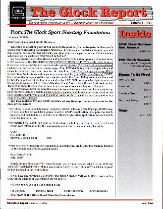1997 The Glock Report GSSF