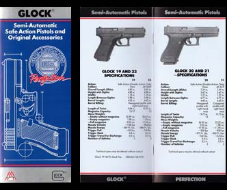 1992 Glock Pocket Catalog