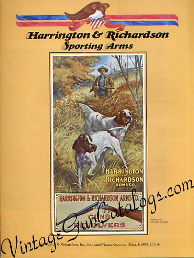 1975 Harrington & Richardson Catalog