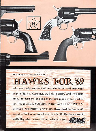 1969 Hawes firearms Catalog