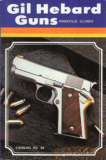 1980 Gil Hebard Guns Catalog
