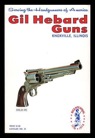1976 Gil Hebard Guns Catalog