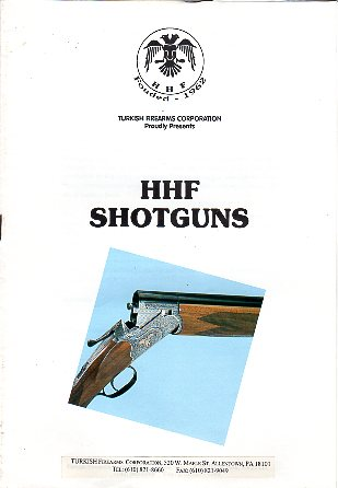 1995 HHF Shotguns Catalog