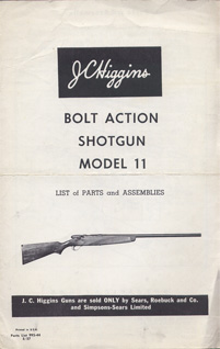 JC Higgins Model 11