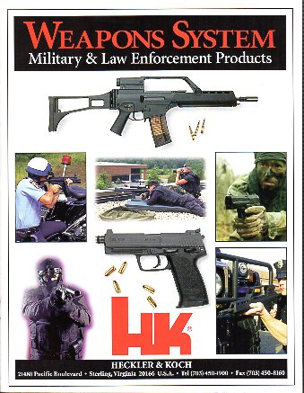 1998 HK Weapons Systems Catalog