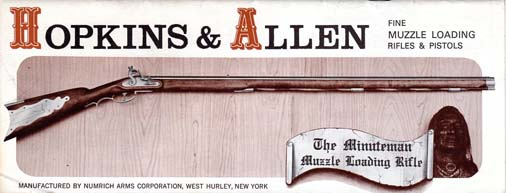 1970's Hopkins & Allen Muzzle Loaders Catalog