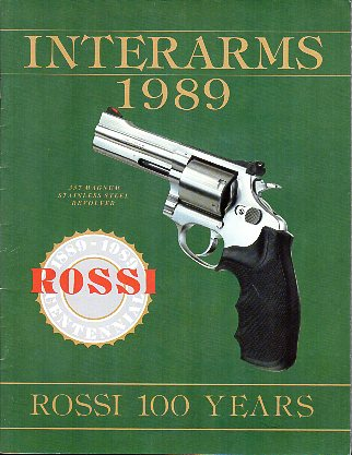 1989 Interarms Catalog / Large