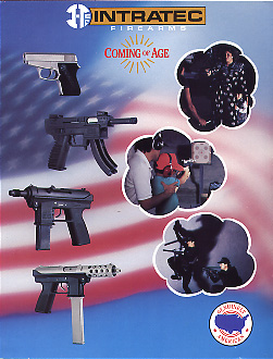 1991 Intratec Firearms Catalog