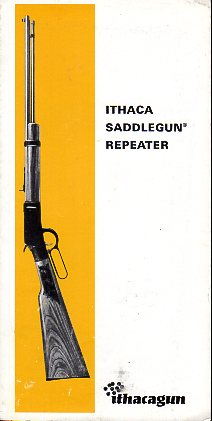 1968 Ithaca Saddlegun Instructions