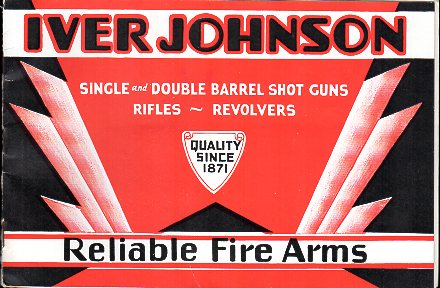 1933 Iver Johnson Fire Arms Catalog