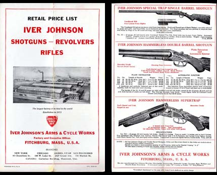 1934 Iver Johnson Catalog