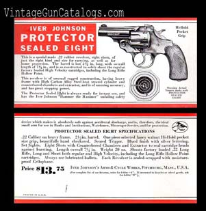 1932 Iver Johnson Protector Advertisement