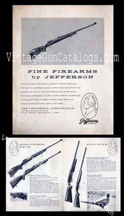 "1950-60's ""Fine Firearms by Jefferson"" Catalog"