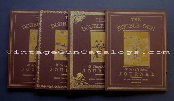 2013 Double Gun Journal & Single Shot Journal