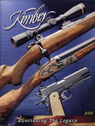 2005 Kimber of America Inc Catalog