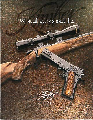 1996 Kimber of America Catalog