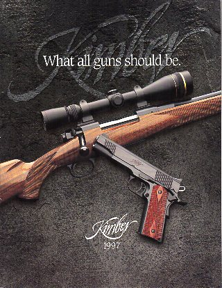 1997 Kimber of America Catalog