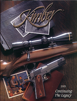 2001 Kimber of America Inc. Catalog