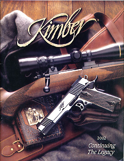 2002 Kimber of America Inc. Catalog