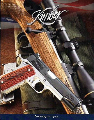 2010 Kimber of America Inc Catalog