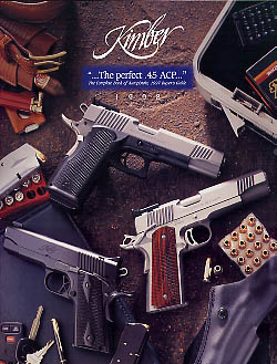 1998 Kimber of America Inc. Catalog