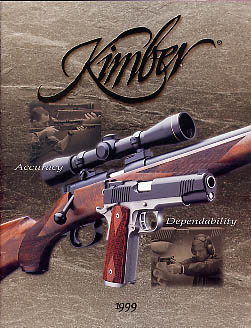 1999 Kimber of America Inc. Catalog
