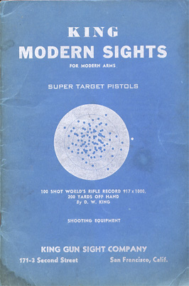 1938 King Modern Sights Catalog