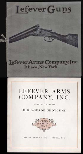 1916 Lefever Guns Catalog