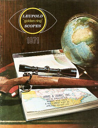 1971 Leupold Scopes Catalog
