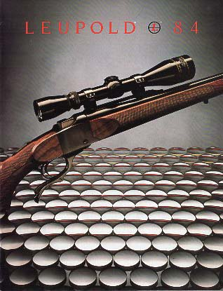 1984 Leupold Scopes Catalog