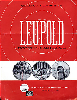 1958 Leupold Scopes & Mounts Catalog