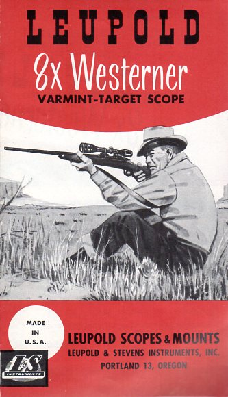 1957 Leupold Westerner Scopes Brochure