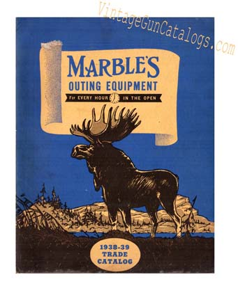 1938-39 Marble's Outing Equipment Catalog