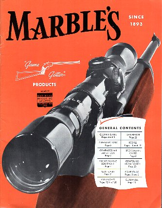 1963 Marble's Catalog