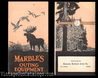 1930 Marble's Outing Equipment Catalog