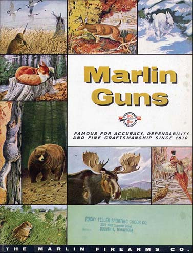 1960 Marlin Guns Catalog