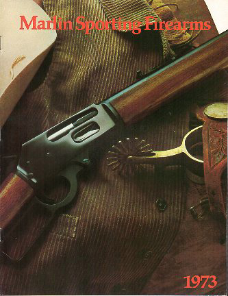1973 Marlin Firearms Catalog