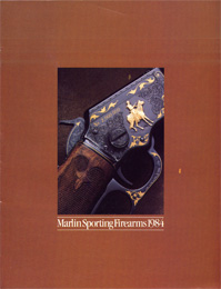 1984 Marlin Firearms Catalog