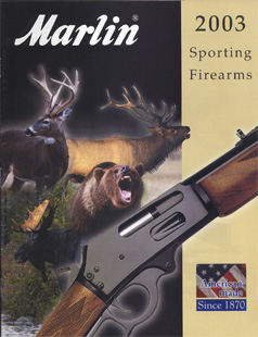 2003 Marlin Firearms Catalog