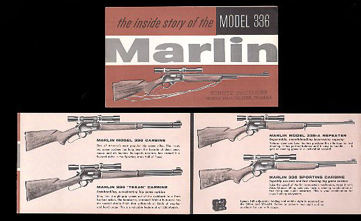 1960 Marlin 336 Pocket Catalog